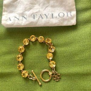 Ann Taylor toggle bracelet